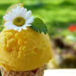 Lemon curd ijs