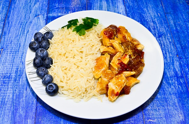 Rijst koken 1